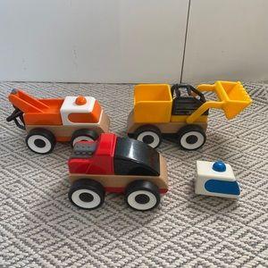 3 little mix and match vehicles